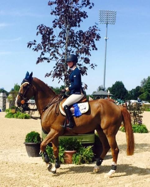 Apple wins at Kentucky Horse Park — Lutz Jumping Horses — Patrik